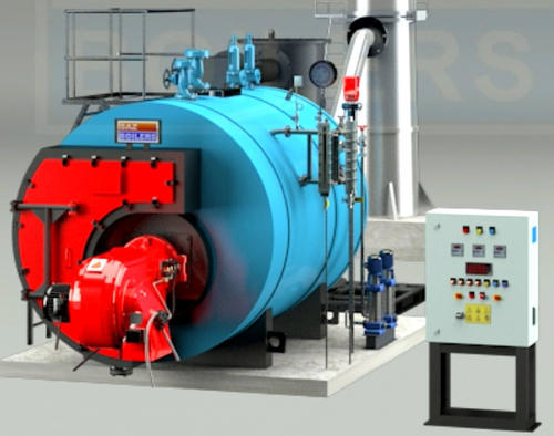 Oil & Gas Fired Smoke Tube Type Steam Boiler